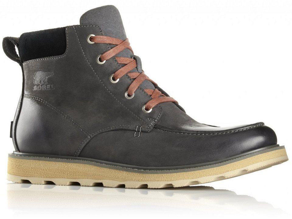 Sorel Kletterschuh »Madson Moc Toe Shoes Men« in grau