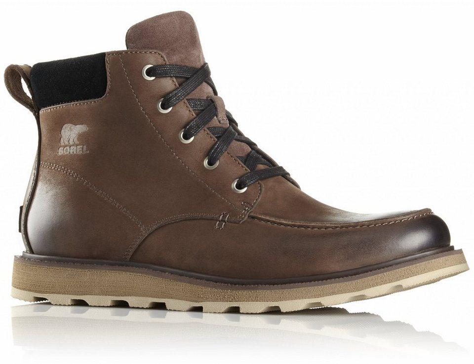 Sorel Kletterschuh »Madson Moc Toe Shoes Men« in braun