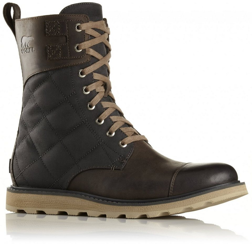 Sorel Stiefel »Madson Tall Lace Boots Men« in braun