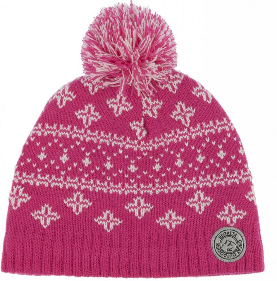 Regatta Mütze »Snowflake Hat Kids« in pink