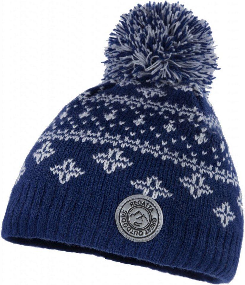 Regatta Mütze »Snowflake Hat Kids« in blau