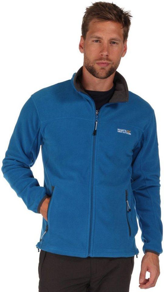 Regatta Outdoorjacke »Stanton II Fleece Men« in blau