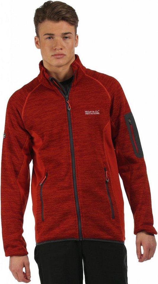 Regatta Outdoorjacke »Collumbus II Fleece Men« in rot