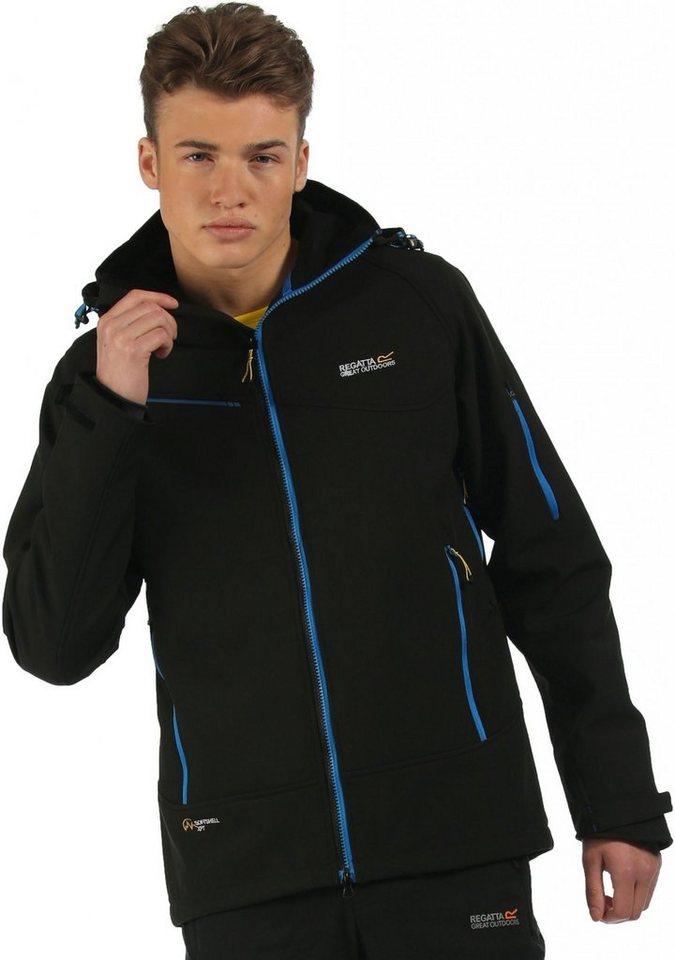 Regatta Softshelljacke »Hewitts II Softshell Jacket Men« in schwarz