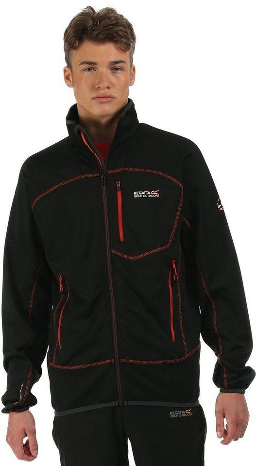 Regatta Pullover »Diego II Jacket Men« in schwarz