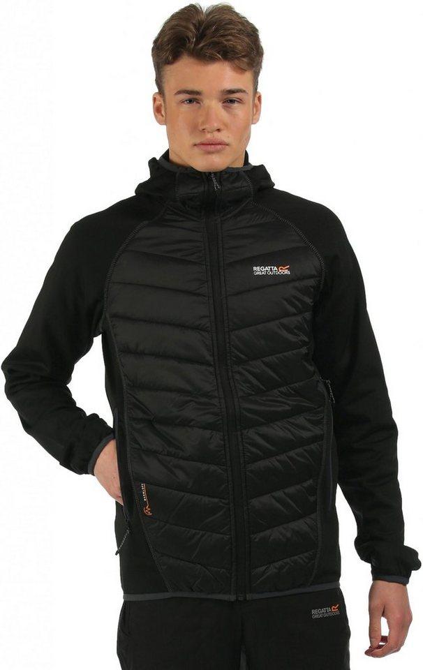 Regatta Outdoorjacke »Andreson II Hybrid Jacket Men« in schwarz