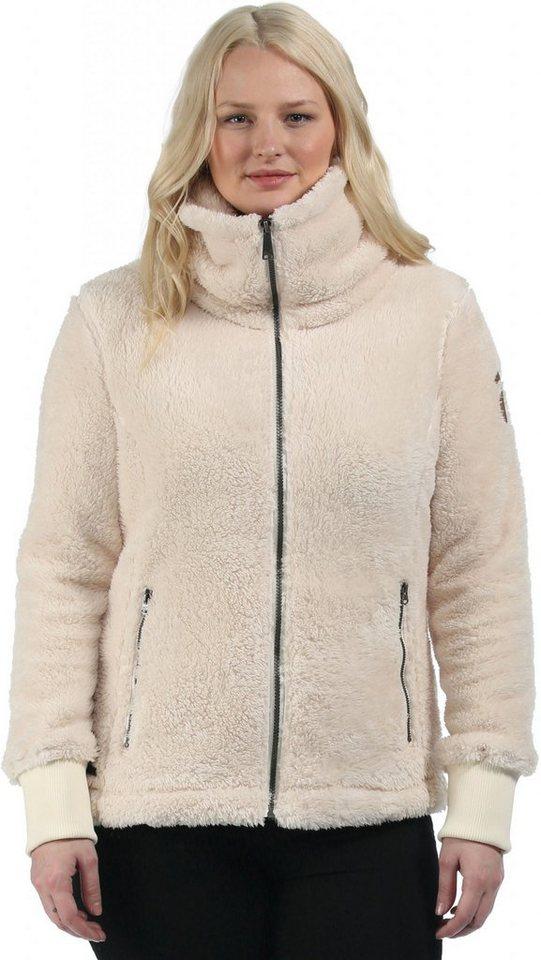 Regatta Outdoorjacke »Halina Fleece Women« in beige