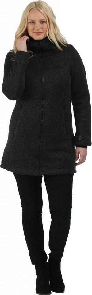 Regatta Outdoorjacke »Radella Fleece Coat Women« in schwarz