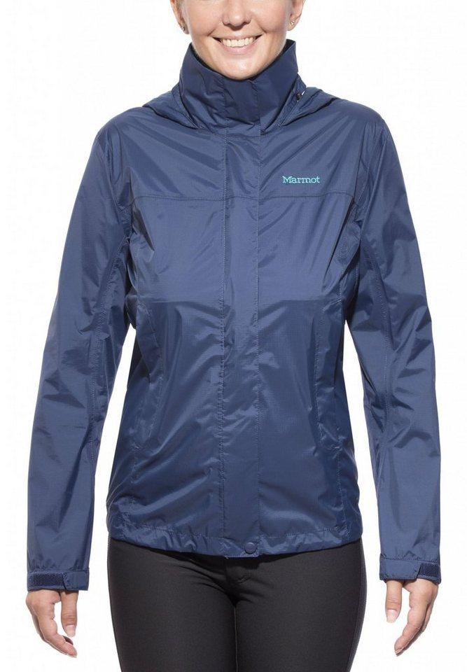 Marmot Regenjacke »PreCip Jacket Women« in blau