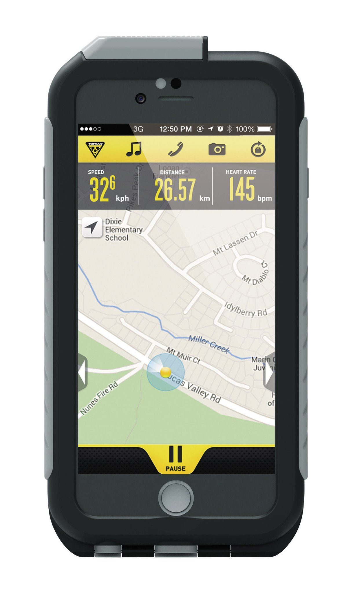 Topeak Smartphone Halter »Weatherproof RideCase für iPhone 6 ohne Halter«