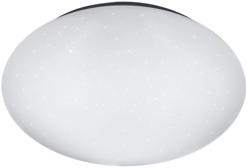 TRIO Leuchten LED Deckenleuchte, »GLITTER PUTZ« in weiß
