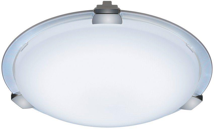 TRIO Leuchten LED Deckenleuchte, »YOKOHAMA« in chromfarben,weiß