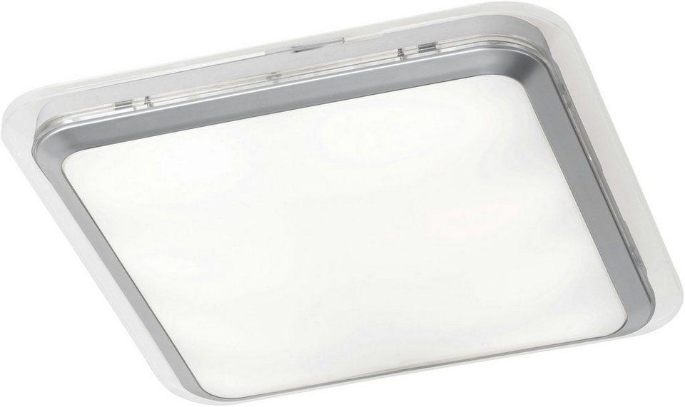 TRIO Leuchten LED Deckenleuchte, »CAPRO« in transparent/weiß matt
