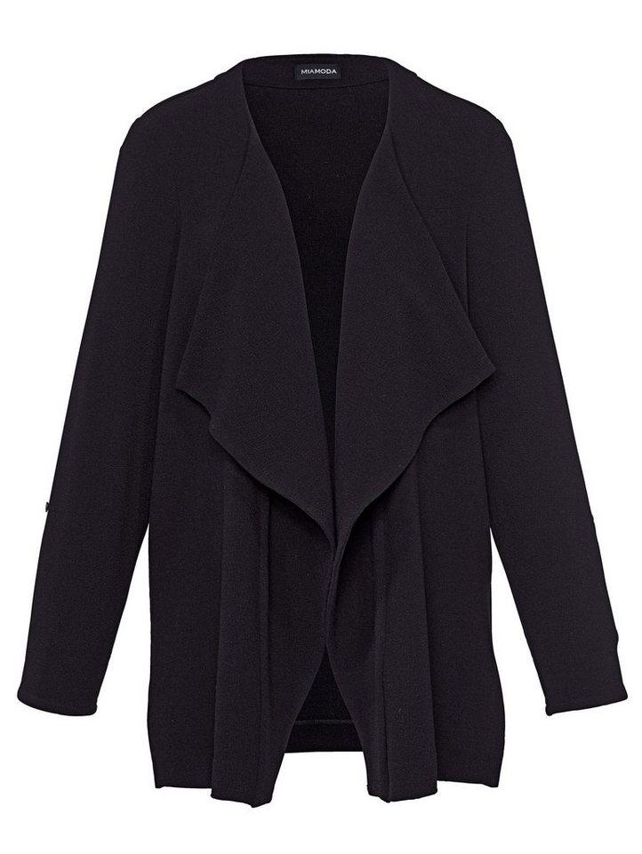 MIAMODA Jacke in schwarz