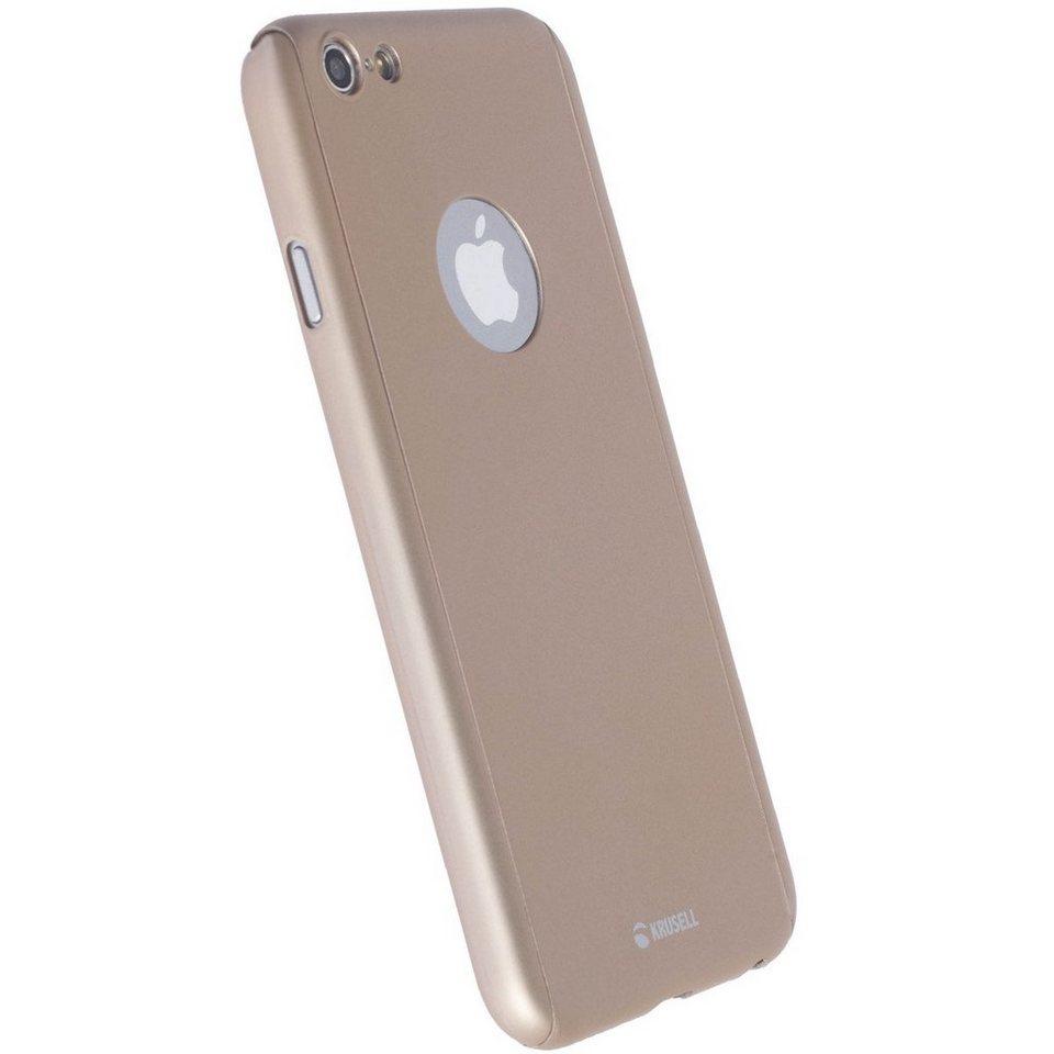 Krusell Handytasche »Arvika 360 Cover für Apple iPhone 7« in Gold