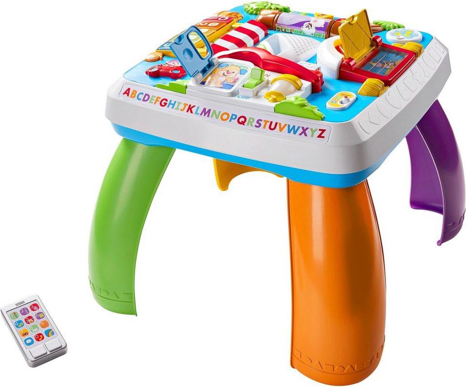 Fisher Price Lernspielzeug, »Lernspaß Spieltisch«