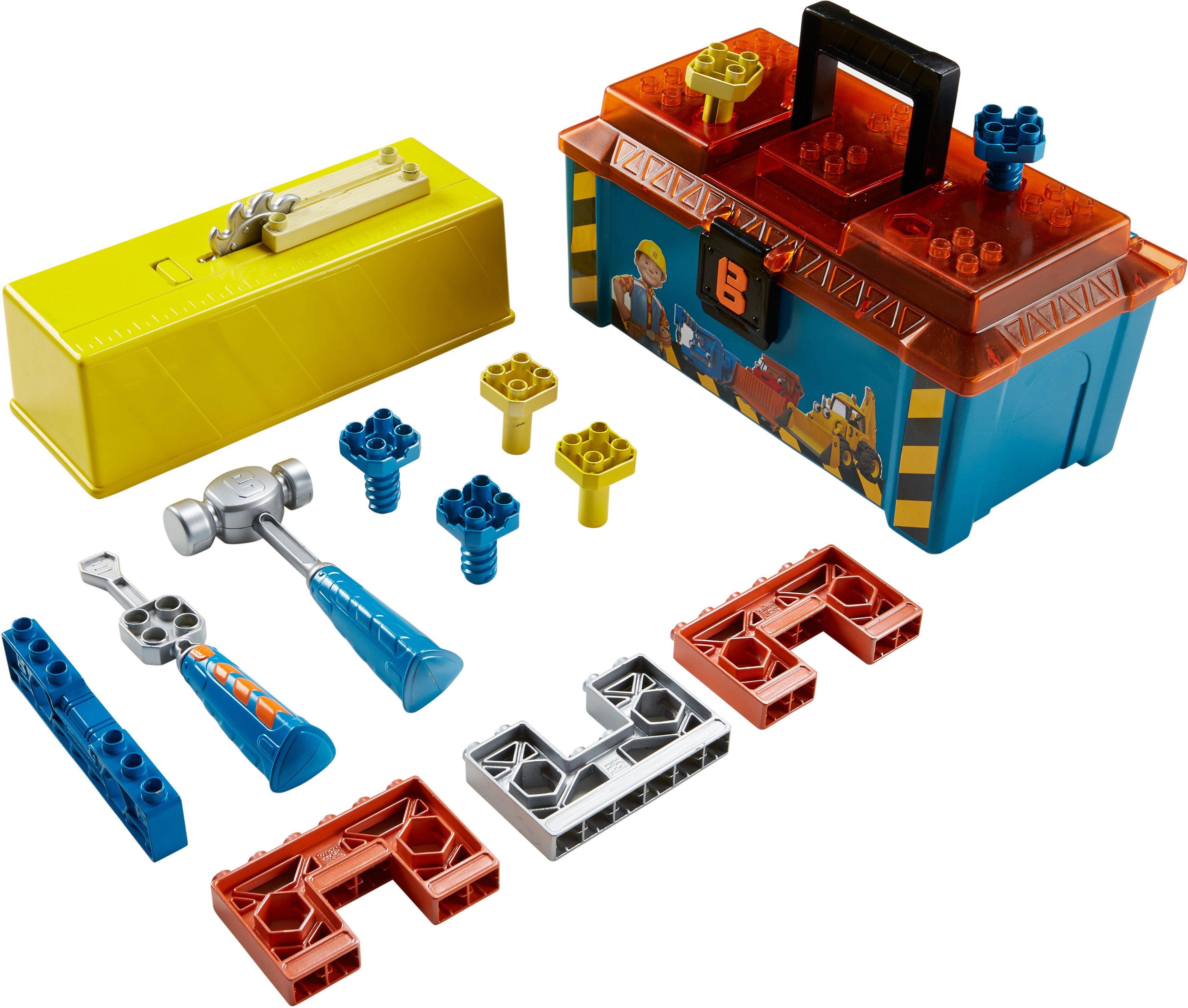 Fisher Price Spielzeug Werkzeugkiste, »Bob der Baumeister, Bobs 2in1 Werkzeugkasten«