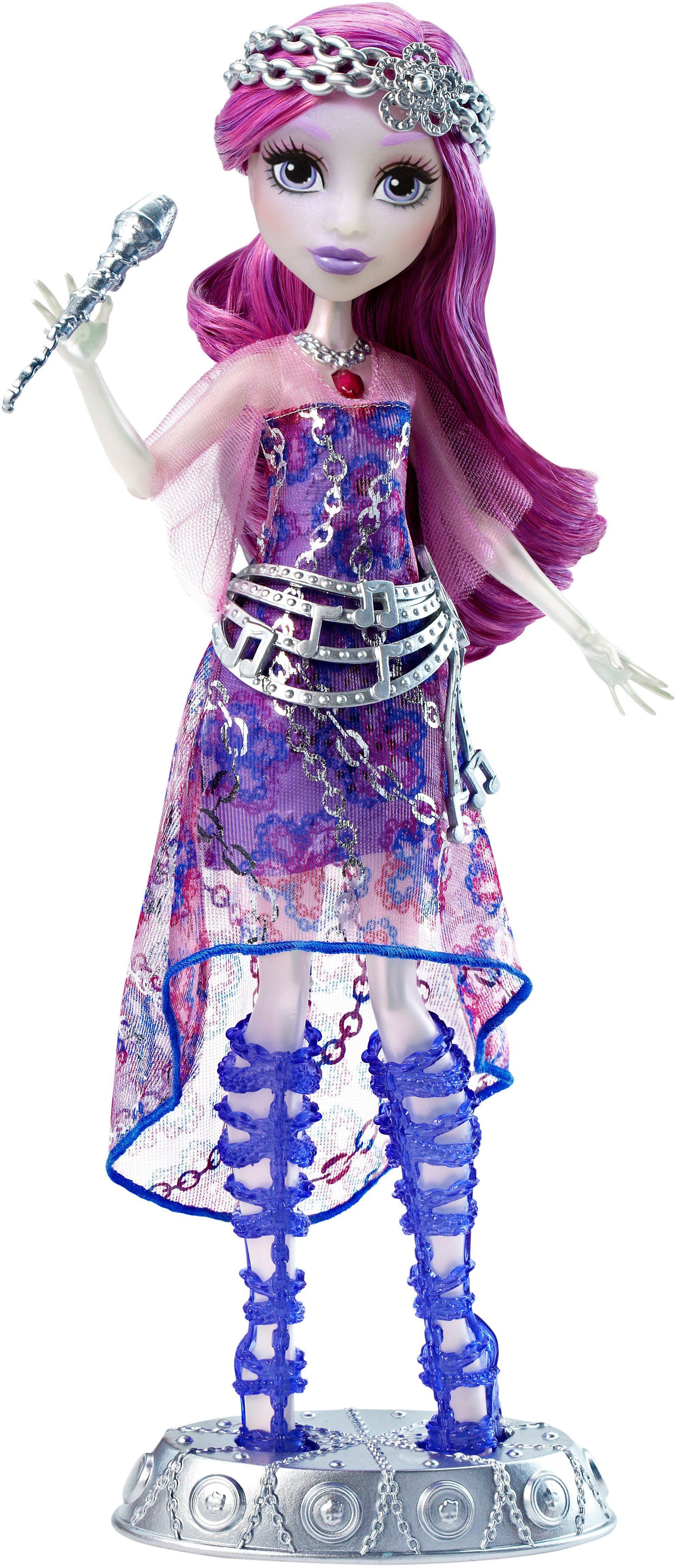 Mattel, Spielpuppe mit Sound, »Willkommen an der Monster High, Singender Popstar Ari Hauntington«