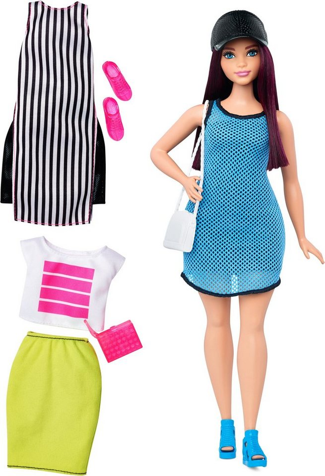 Mattel Puppe, »Barbie Fashionistas, Style Puppe und Moden im Freizeitlook«