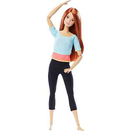 Mattel Puppe, »Barbie Made to Move mit rotem Haar«