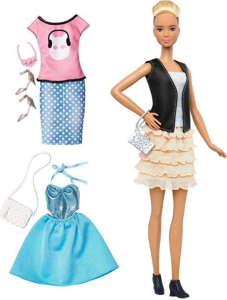 Mattel Puppe, »Barbie Fashionistas, Style Puppe und Moden mit Rüschenrock«