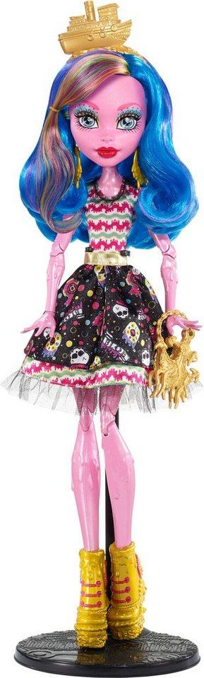 Mattel Puppe, »Monster High, Gruselschiff, Gooliope Jellington«