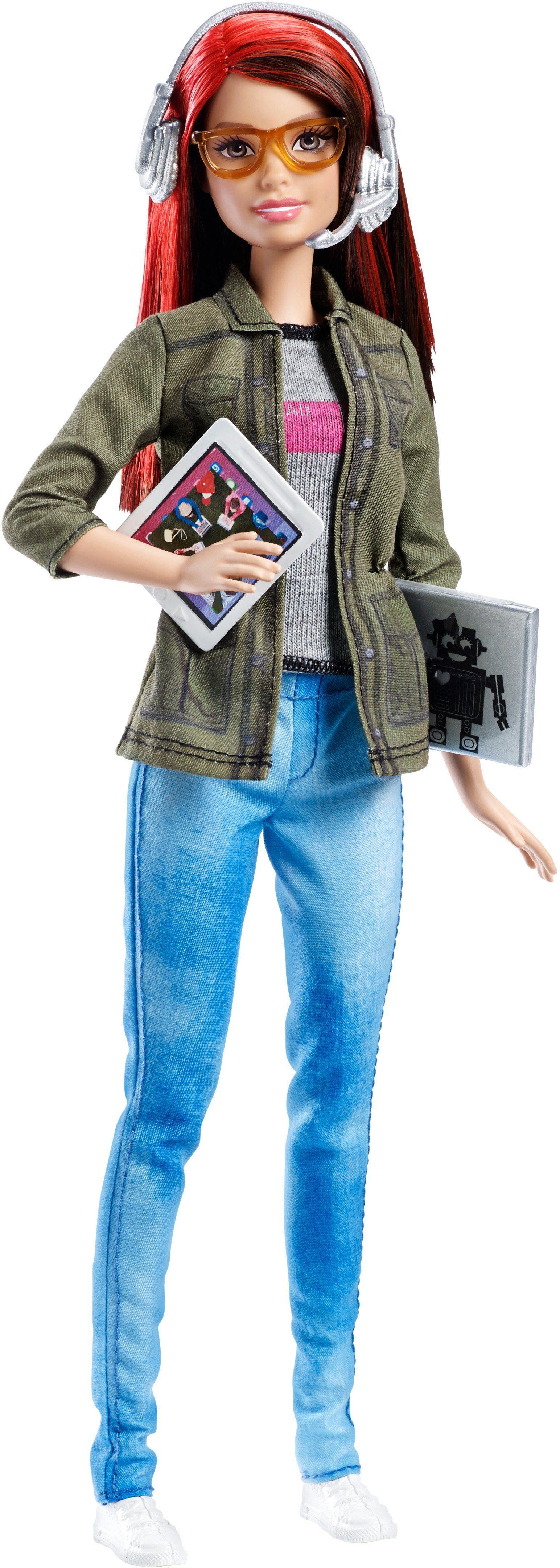 Mattel Puppe mit Technikset, »Barbie Spieleentwicklerin«