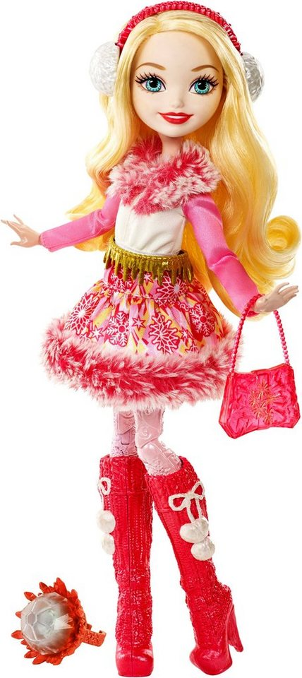 Mattel, Puppe, »Ever After High, Ewiger Winter, Apple White«