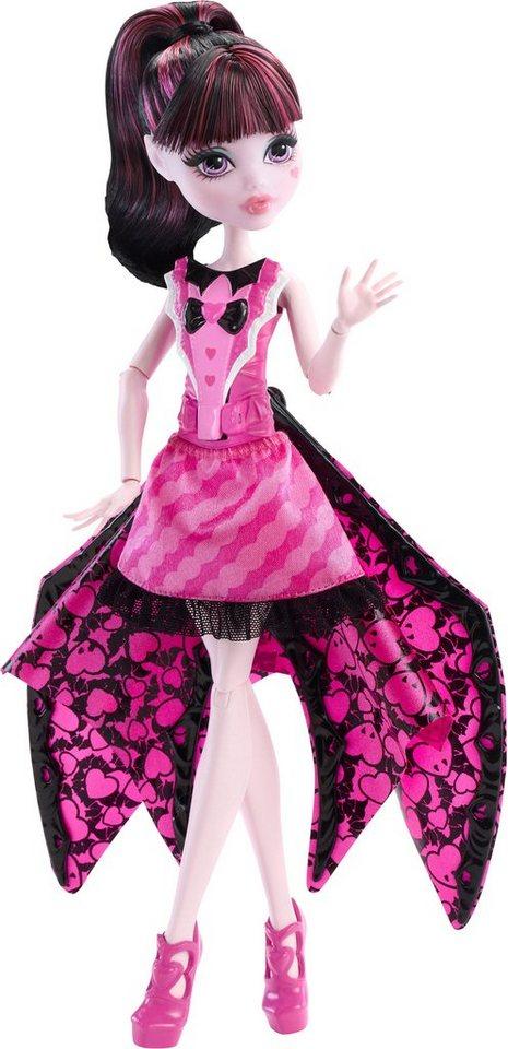 Mattel Verwandelbare Puppe, »Monster High, Fledermaus Draculaura«