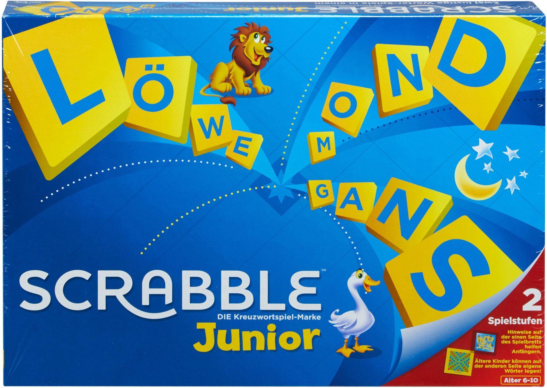 Mattel Gesellschaftsspiel, »Scrabble Junior«
