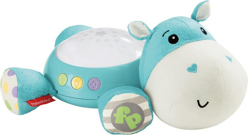 Fisher Price Einschlafhilfe, »Hippo Spieluhr« in blau