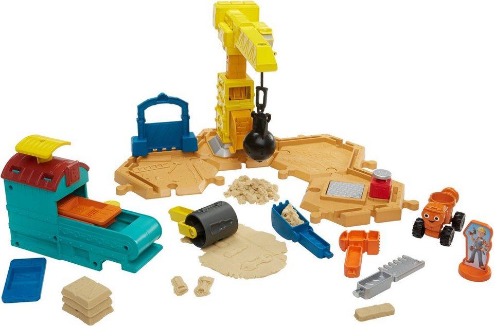 Fisher Price Baustellen Komplettset, »Bob der Baumeister, Großbaustelle Spielset (mit Spielsand)«