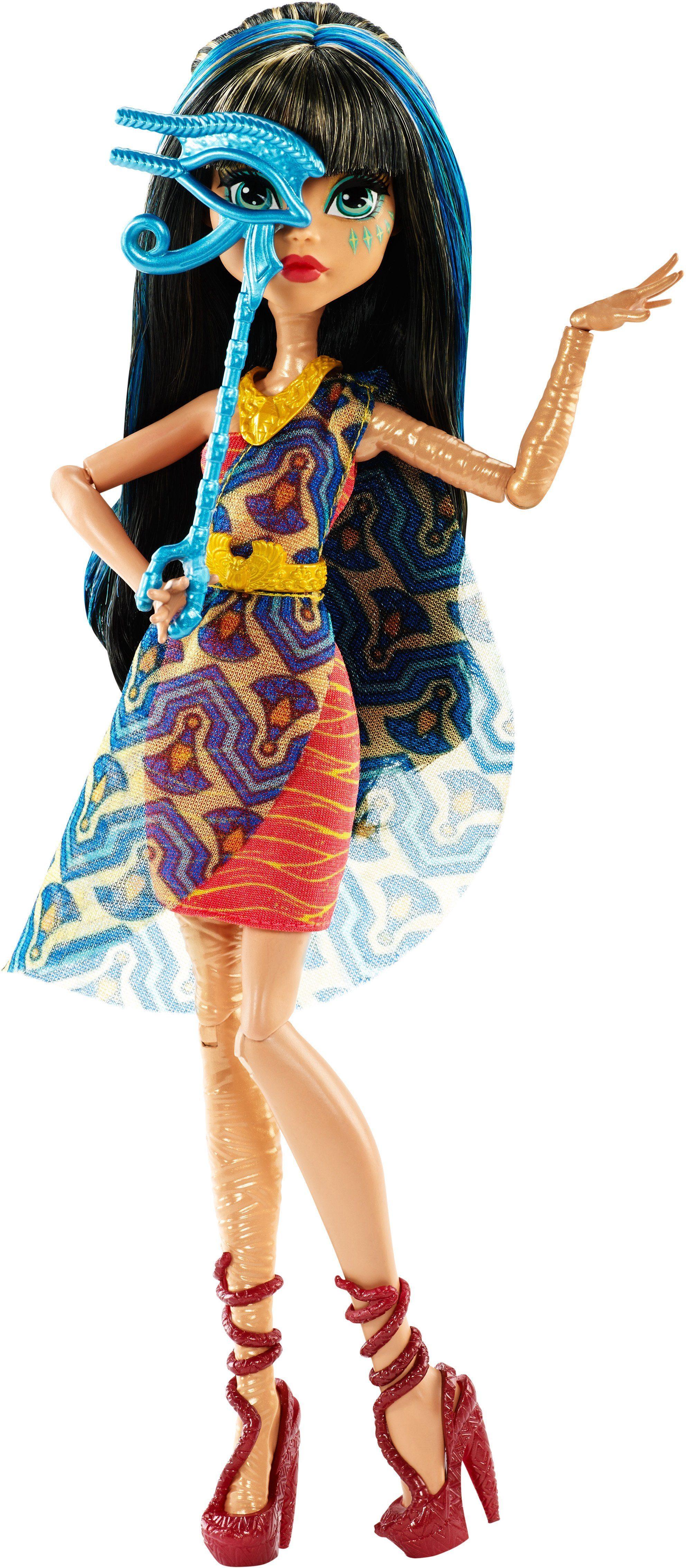 Mattel Puppe, »Monster High, Willkommen an der Monster High, Cleo de Nile«