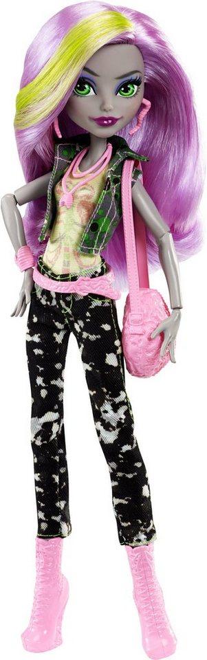 Mattel, Puppe, »Monster High, Willkommen an der Monster High, Moanica D´Kay«