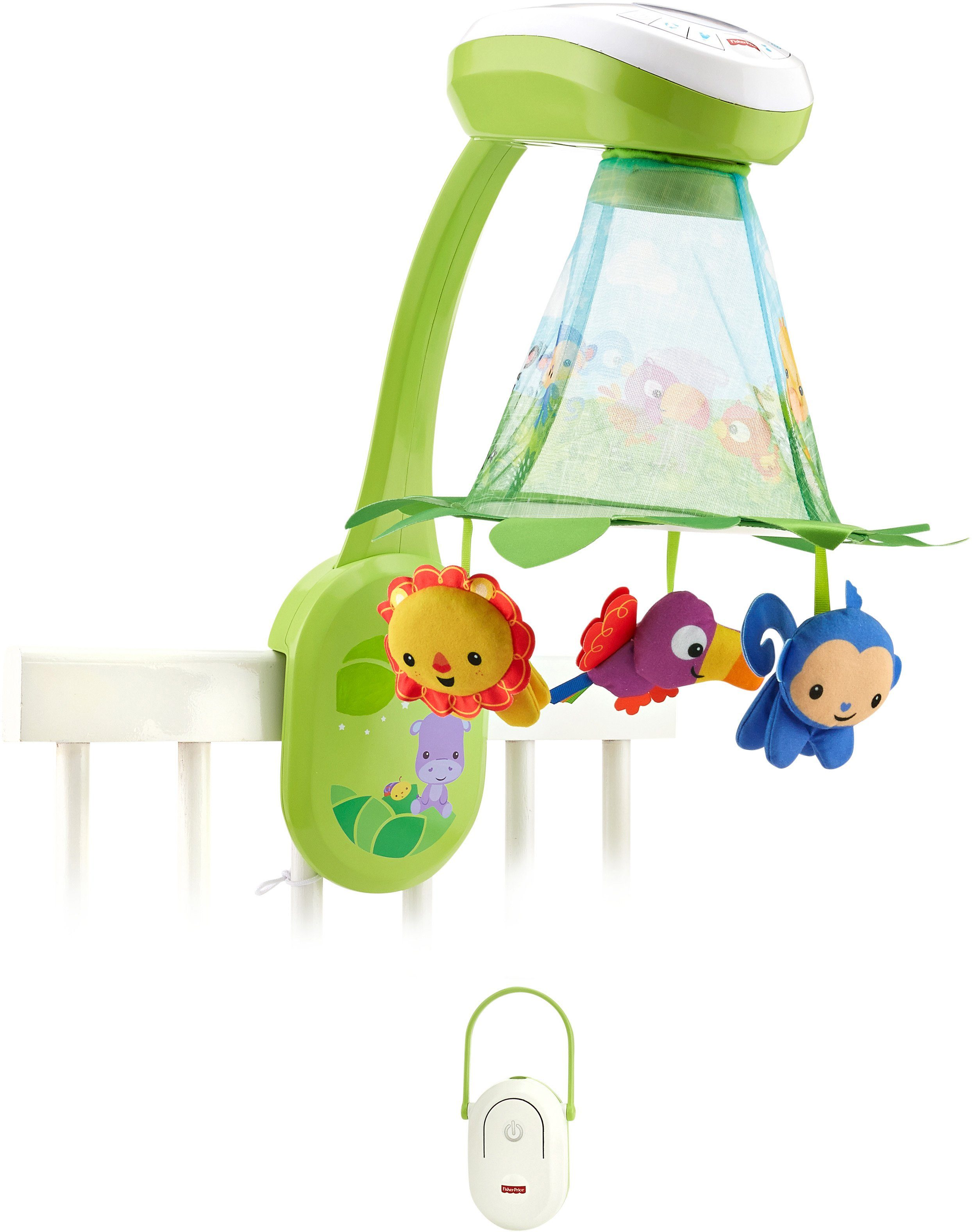 Fisher Price Mobile, »2 in1 Rainforest Musikmobile«