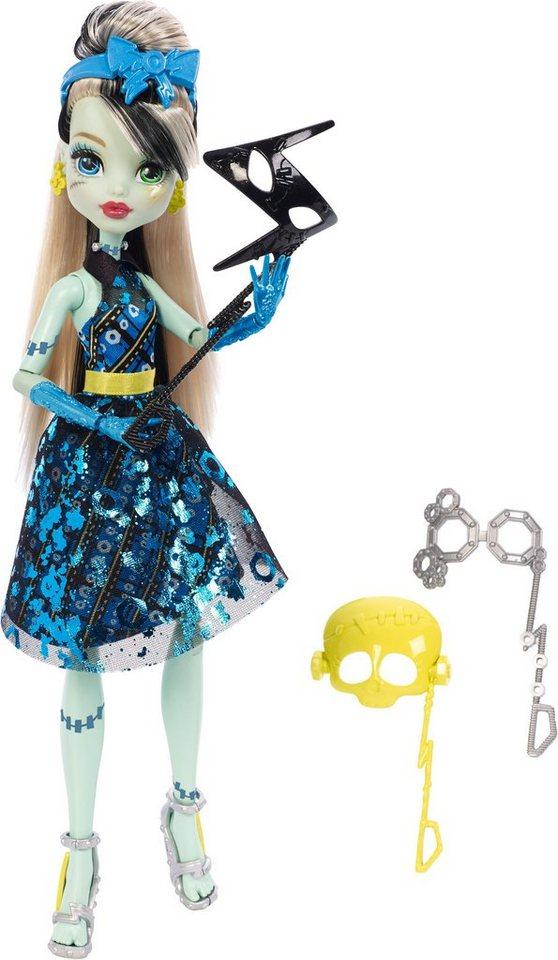 Mattel Spielpuppe mit verschiedenen Masken , »Monster High, Foto Monsterfreundin Frankie Stein«