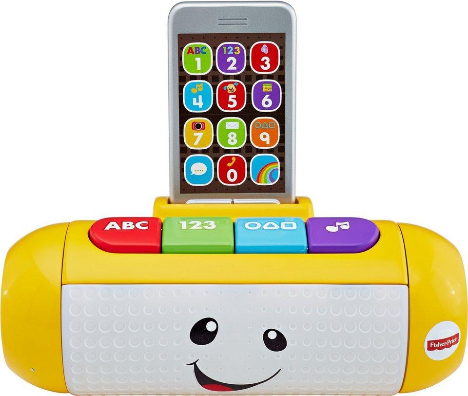 Fisher Price Lernspielzeug, »Lernspaß Lautsprecher« in gelb