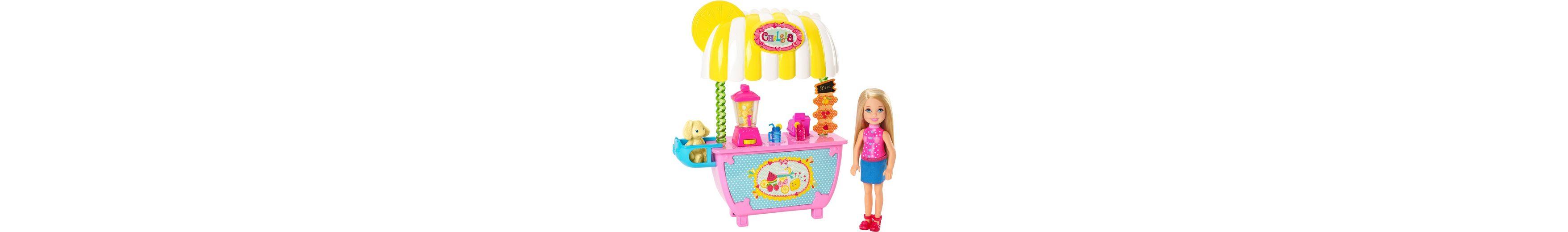 Mattel Puppe mit Zubehör, »Barbie Limonadenstand und Chelsea«