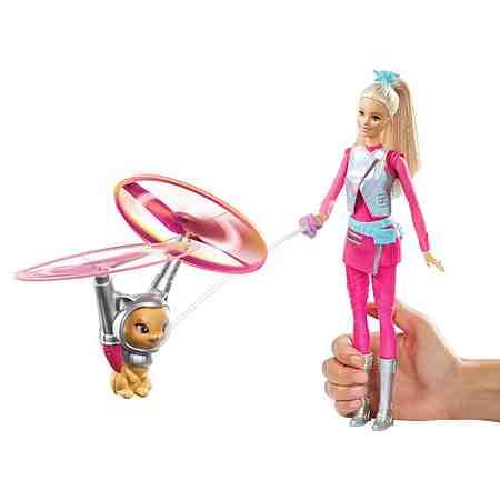 Mattel Puppe mit Katze, »Barbie und fliegende Katze«