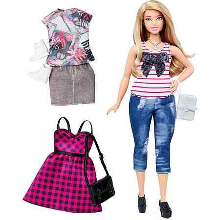 Mattel Puppe, »Barbie Fashionistas, Style Puppe und Moden im Alltagsschick Look«