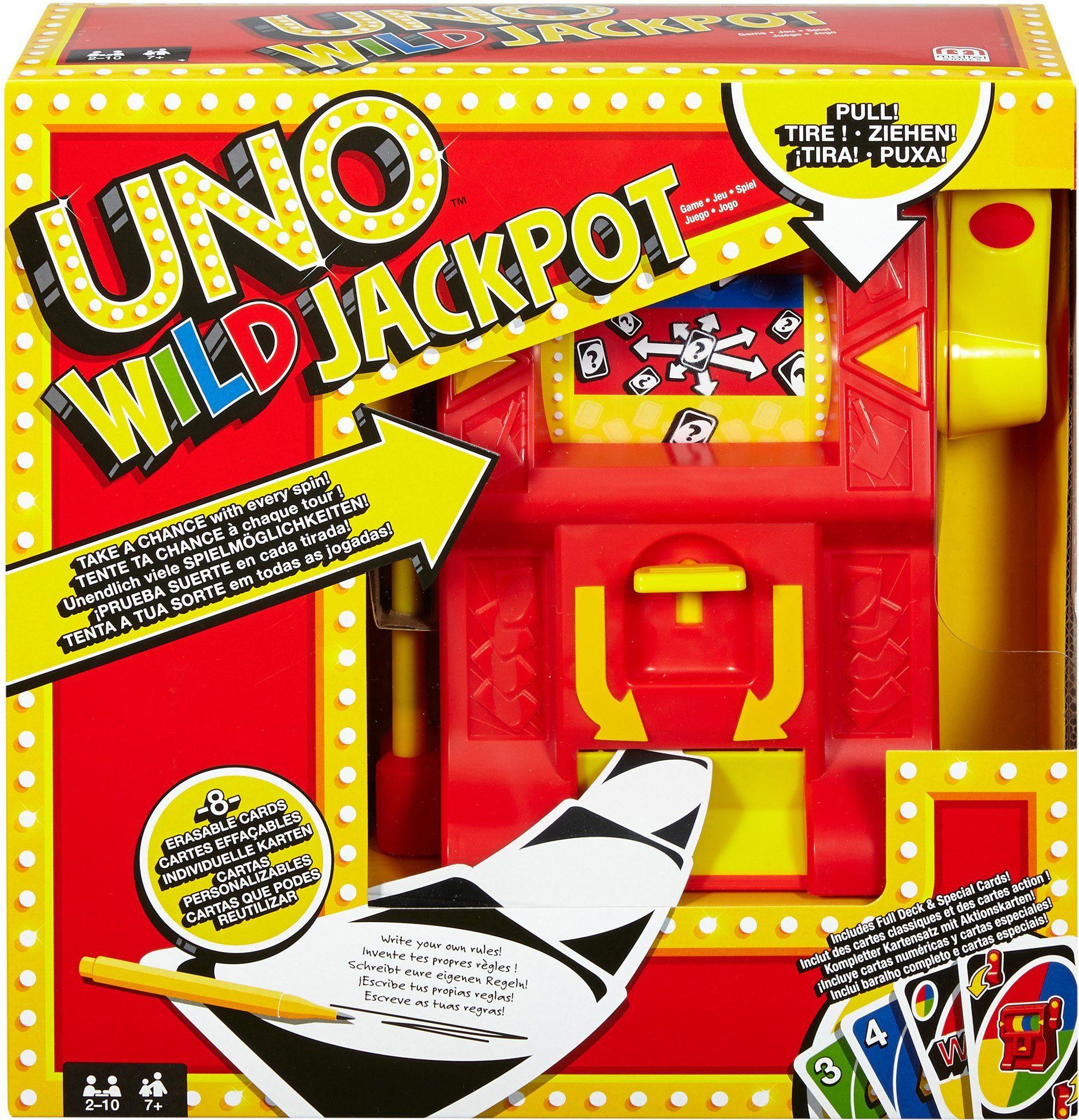 Mattel, Kartenspiel, »UNO Wild Jackpot«