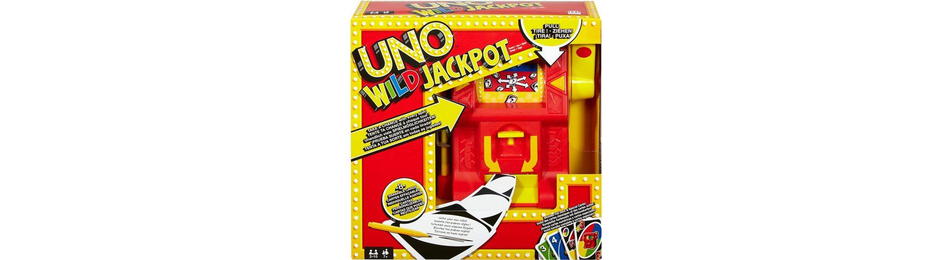 Mattel Kartenspiel, »UNO Wild Jackpot«
