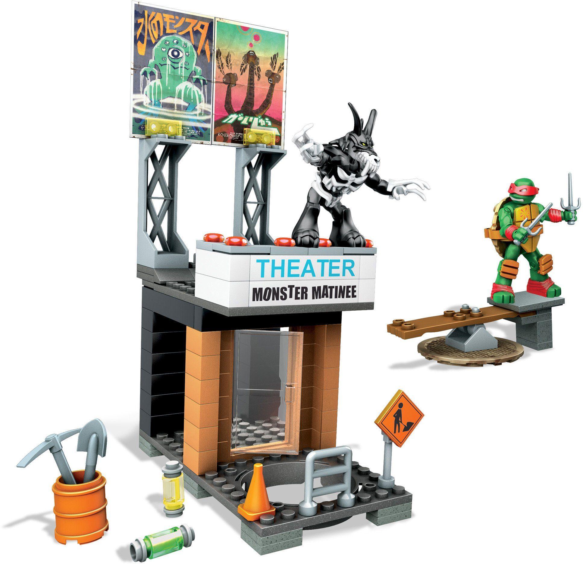 Mattel Spielset, »Mega Bloks, Teenage Mutant Ninja Turtles, Coole Angriffsaction«