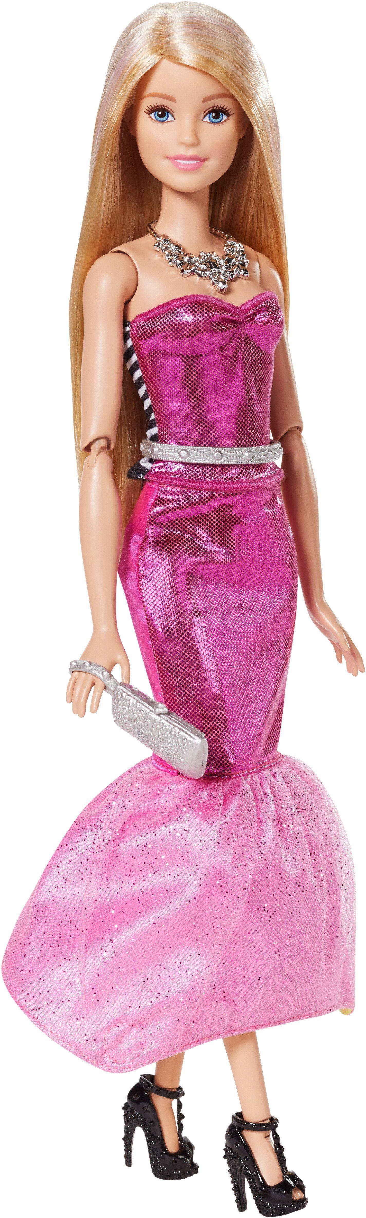Mattel Puppe mit 2 Outfits, »Barbie Modetransformation«