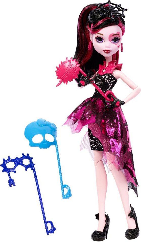Mattel Spielpuppe mit verschiedenen Masken, »Monster High, Foto Monsterfreundin Draculaura«