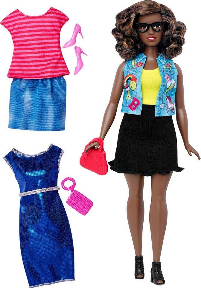 Mattel Puppe, »Barbie Fashionistas, Style Puppe und Moden mit Emoticons Weste«