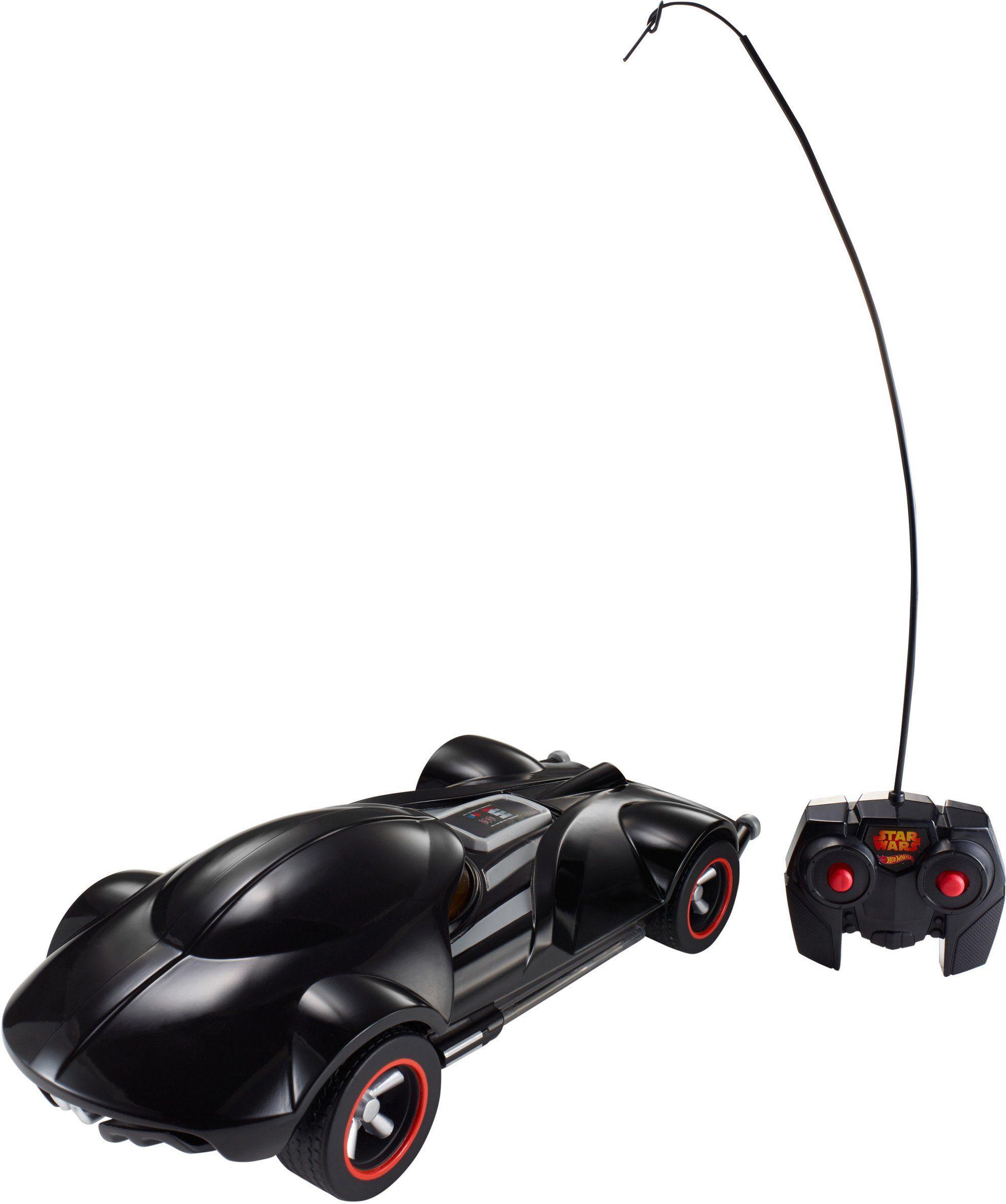 Mattel, RC Fahrzeug mit Licht und Sound, »Hot Wheels®, Star Wars, Darth Vader RC Fahrzeug«