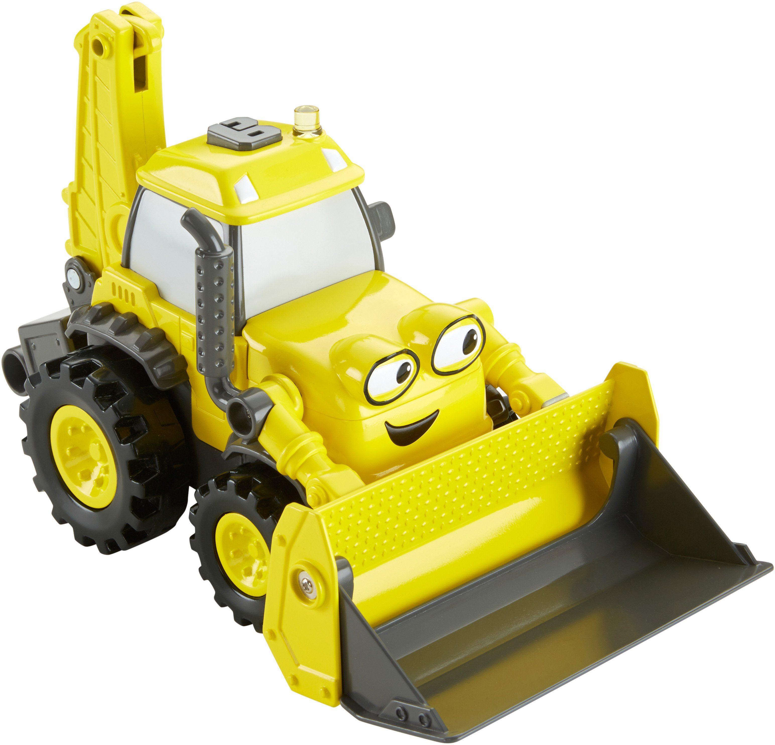 Fisher Price Spielzeugbagger, »Bob der Baumeister, Großer Schaufelspaß Baggi«