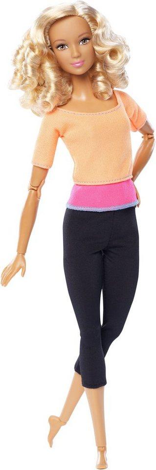 Mattel Puppe, »Barbie Made to Move mit lockigem Haar«