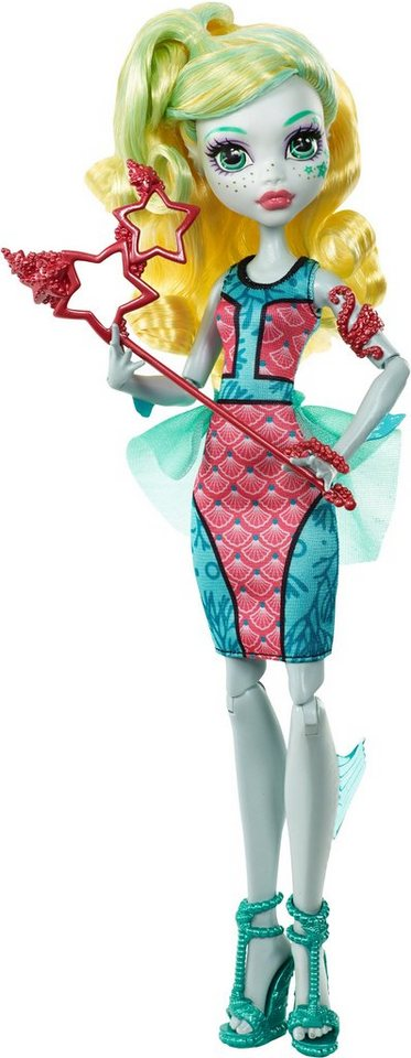 Mattel Puppe, »Monster High, Willkommen an der Monster High, Lagoona Blue«
